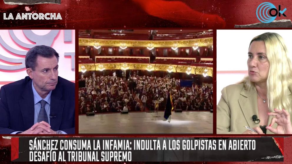 Almudena Negro y Fernando Martínez Dalmau en La Antorcha