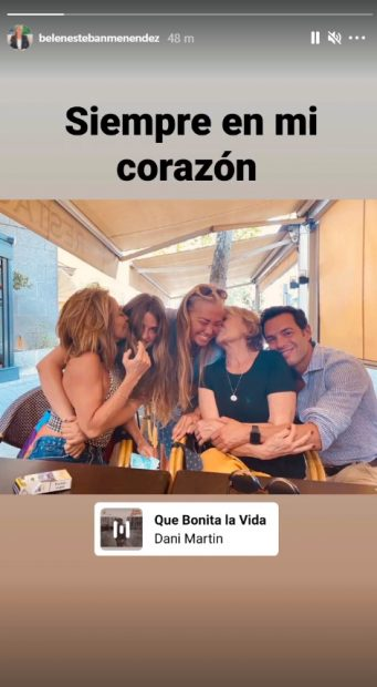 Belén Esteban se despide de Mila Ximénez en Instagram