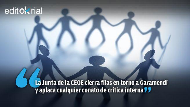 Sánchez reduce la CEOE a una pandilla de subsidiarios