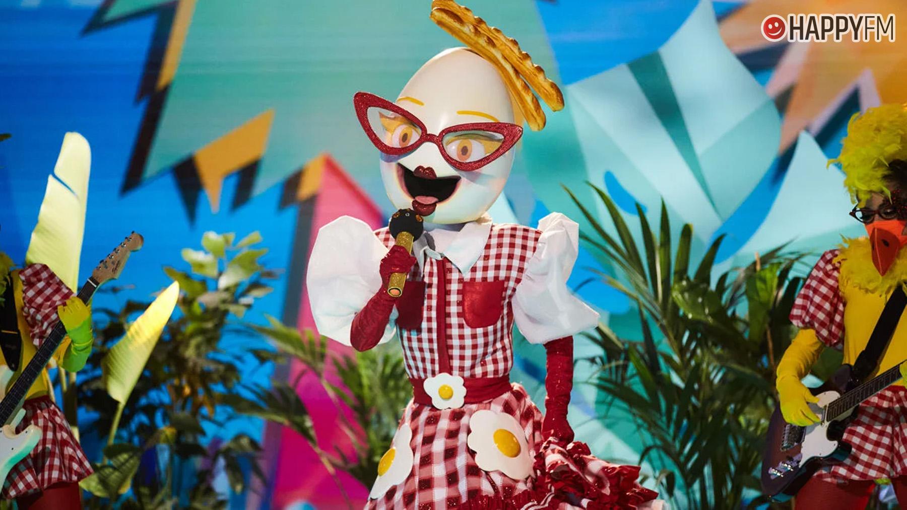 Huevo en Mask Singer