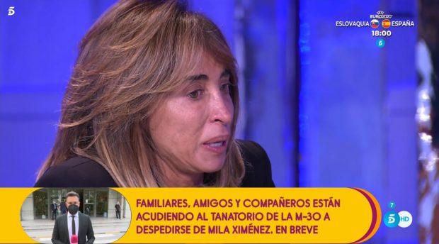 María Patiño despide a Mila Ximénez