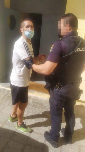 Poli Díaz detenido por la Policía