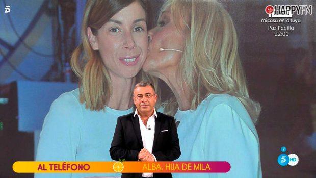 Alba, la hija de Mila Ximénez, entra en directo en 'Sálvame'