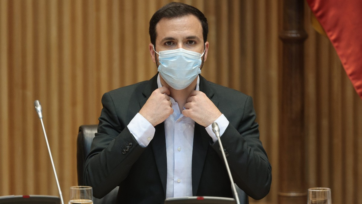 El ministro, Alberto Garzón.