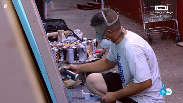 'Sálvame' prepara un homenaje en forma de graffiti a Mila Ximénez