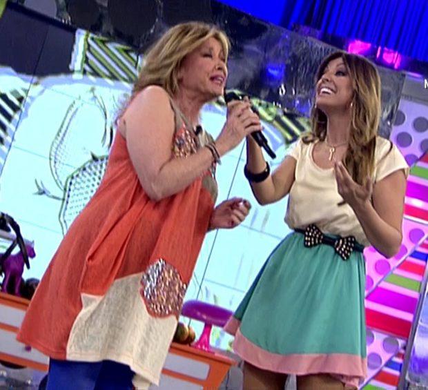 La cantante Merche recuerda el día que cantó con Mila Ximénez