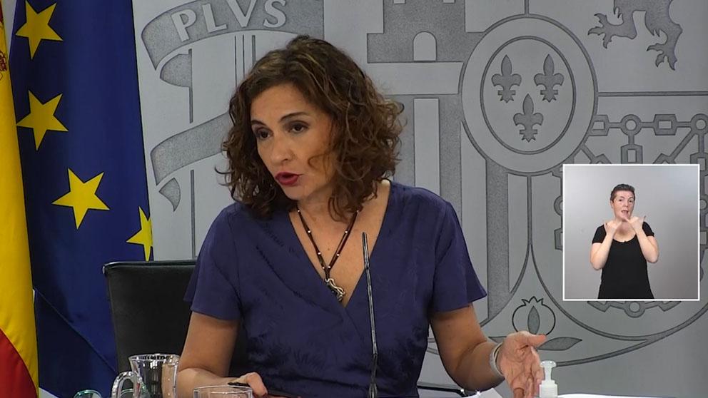 Ministerios para la Transición Ecológica y el Reto Demográfico y de Hacienda, María Jesús Montero.