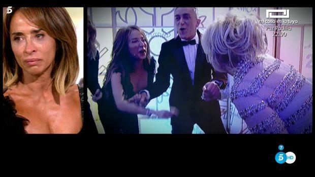 María Patiño se rompe en 'Sálvame' al recordar a su mejor amiga en el programa