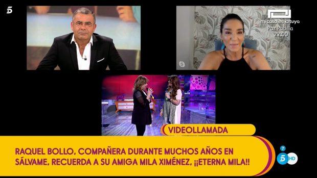 Raquel Bollo reaparece en 'Sálvame'