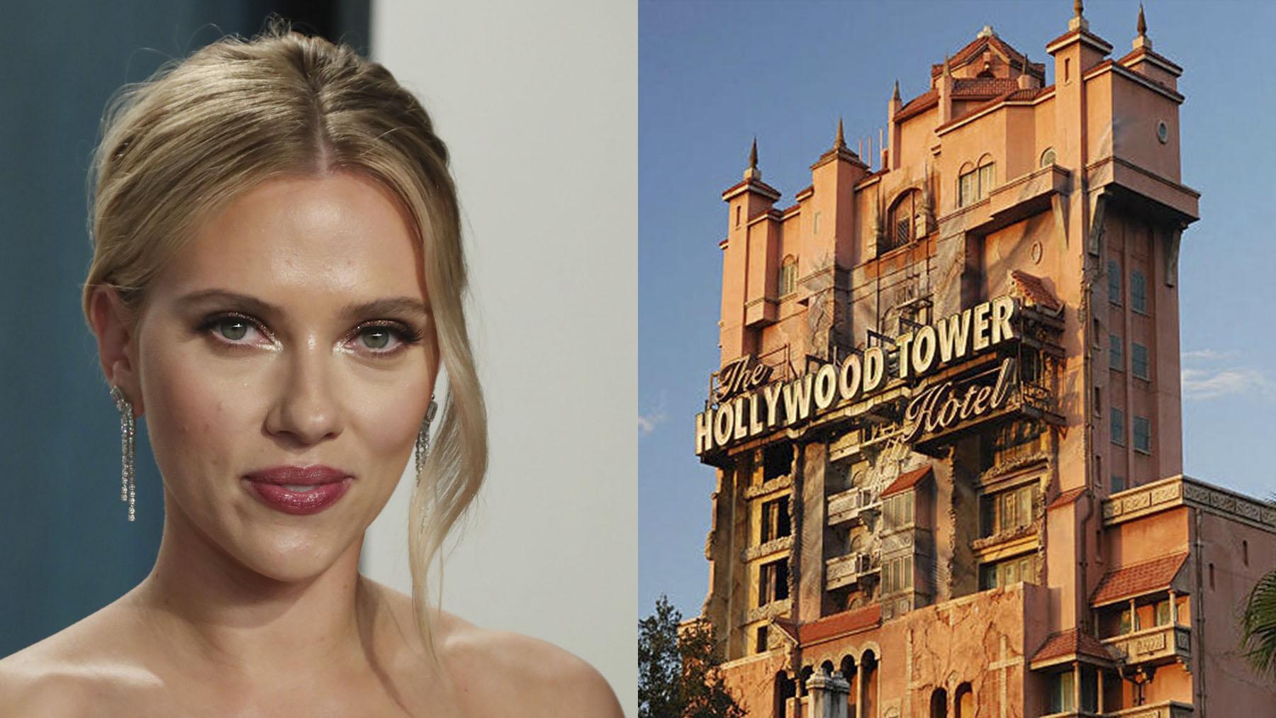 Scarlett Johansson producirá la película sobre la famosa atracción de Disney