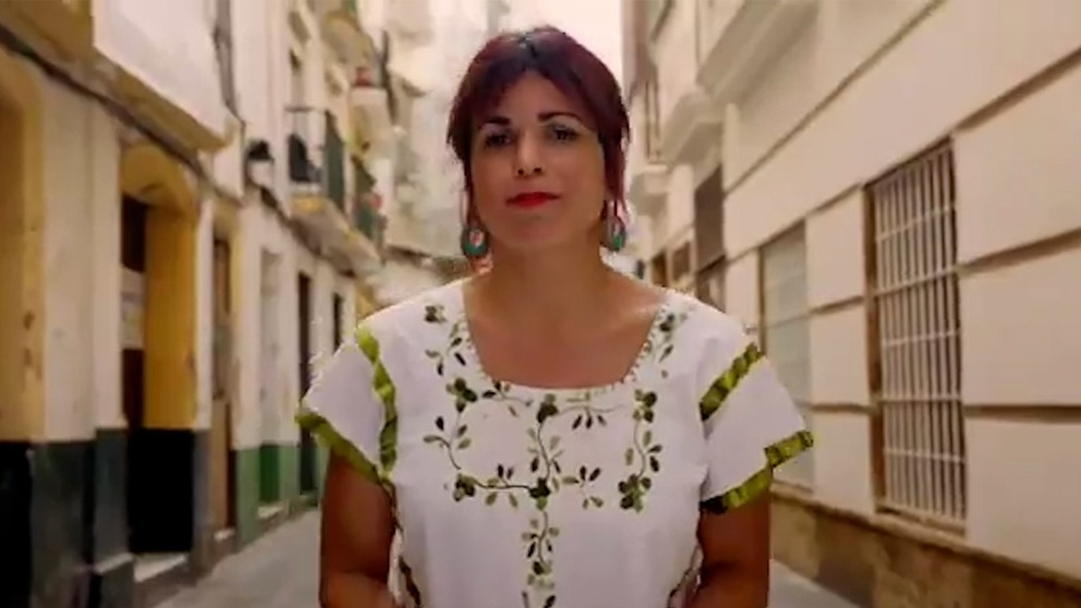 Teresa Rodríguez, de Anticapitalistas.
