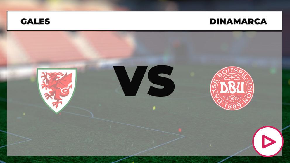 Eurocopa 2020: Gales – Dinamarca  Horario del partido de fútbol de la Eurocopa.