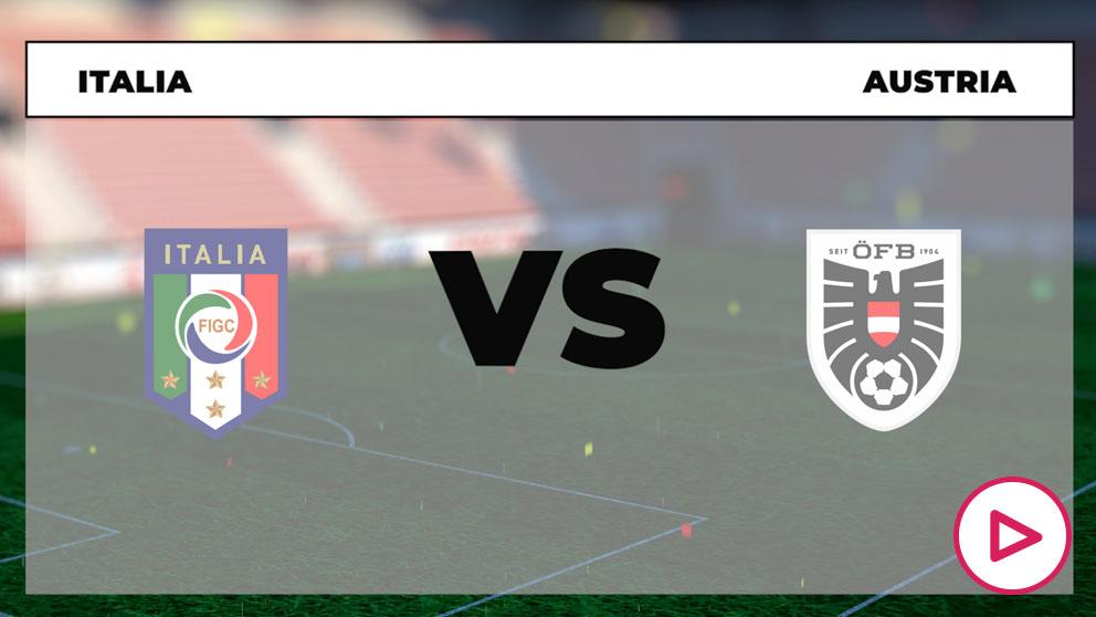 Eurocopa 2020: Italia – Austria  Horario del partido de fútbol de la Eurocopa.
