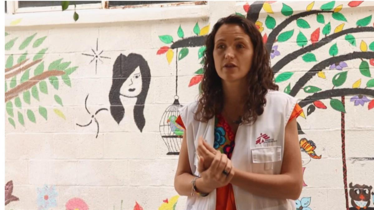 La cooperante asesinada en Etiopía, María Hernández. MSF