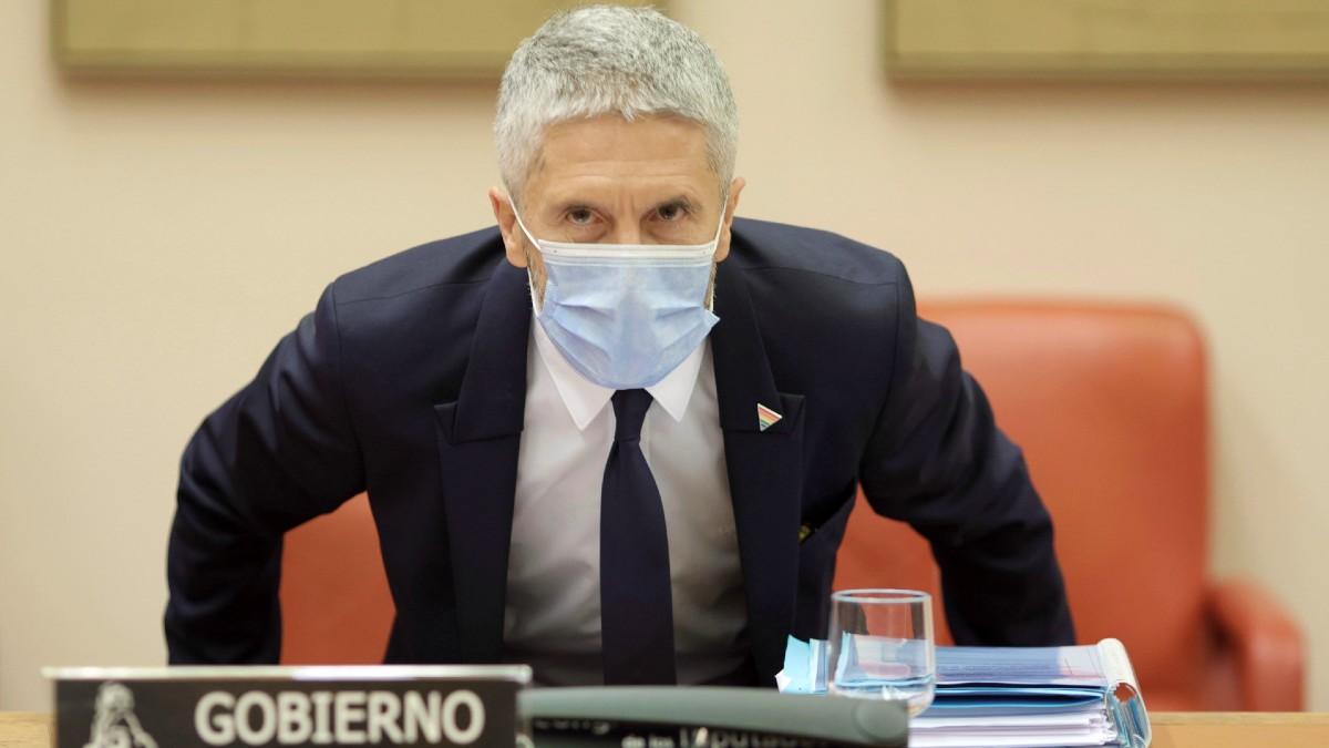 El ministro del Interior, Fernando Grande-Marlaska. (Foto: Europa Press)