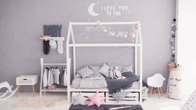 decorar habitación niños ecológica