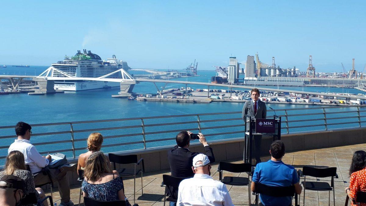Llega a Barcelona el primer crucero desde el inicio de la pandemia con 2.500 pasajeros