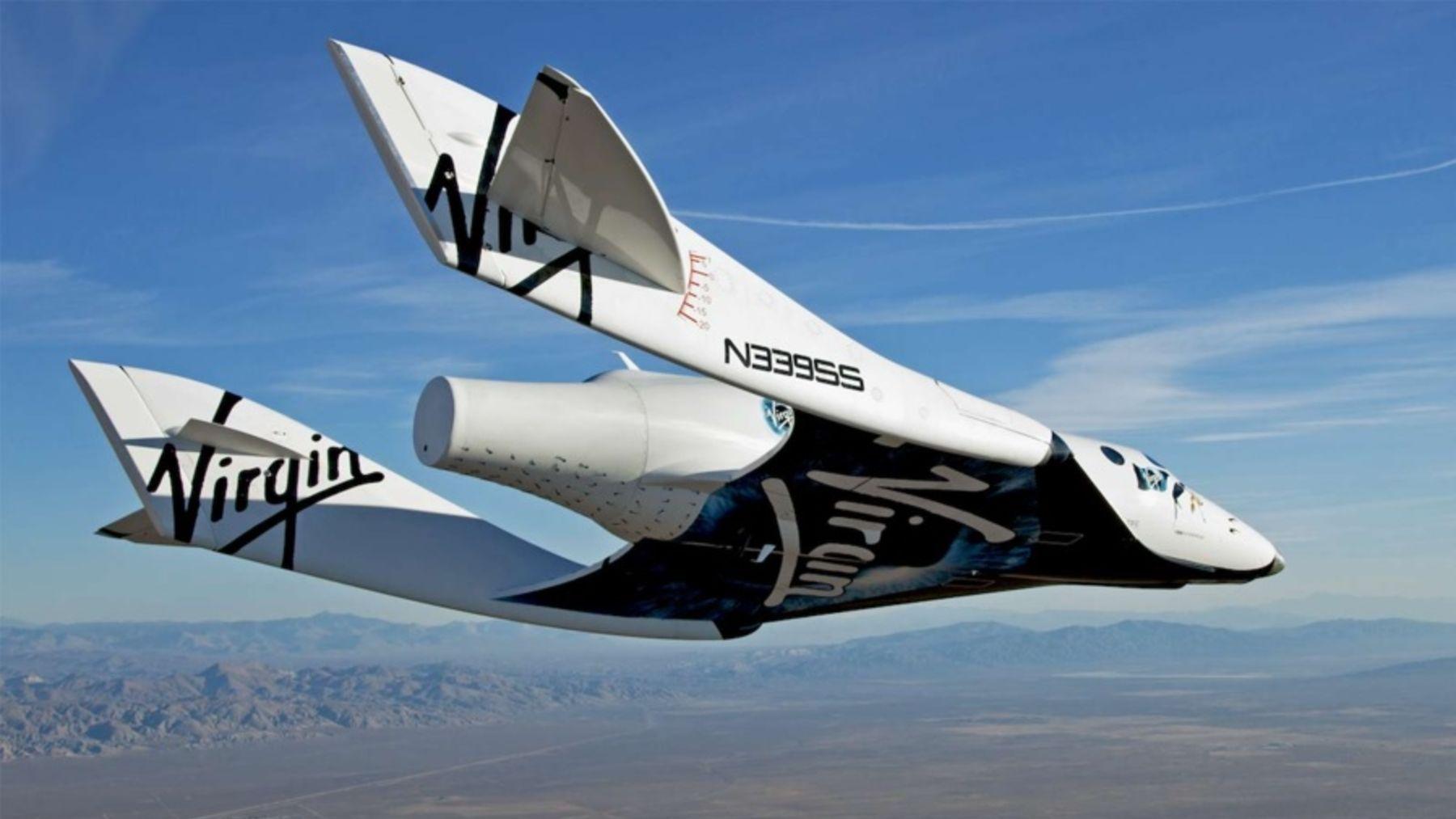 Cómo van a ser los viajes espaciales de Virgin Galactic