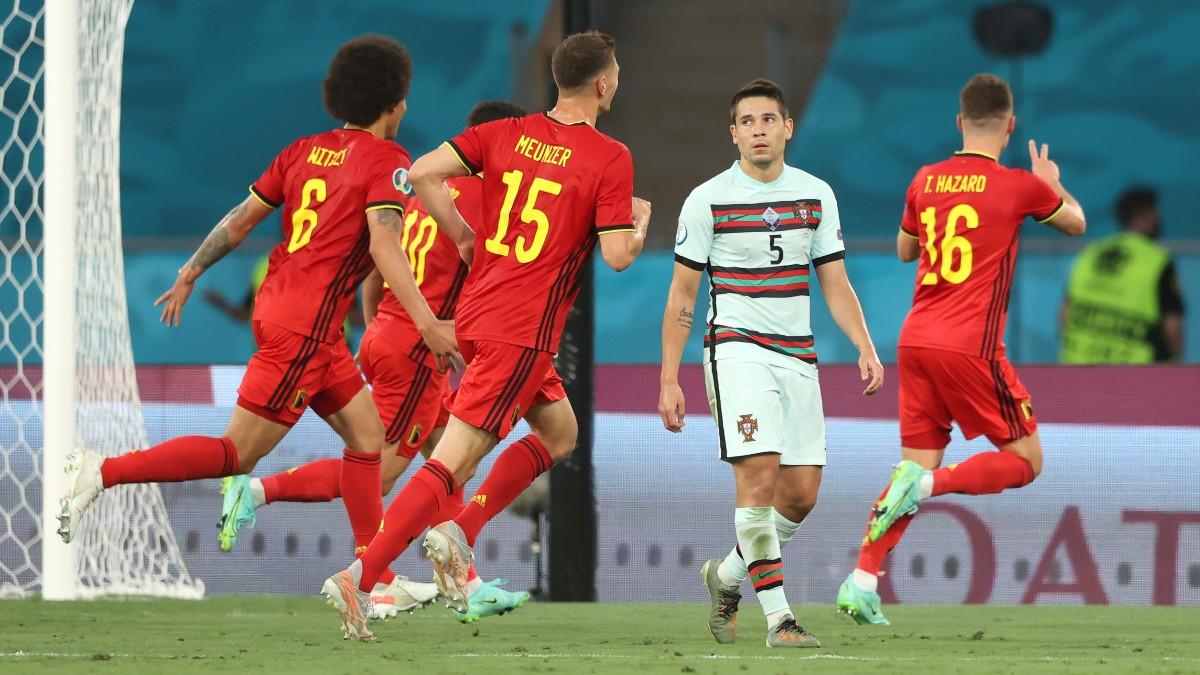 Bélgica – Portugal | Eurocopa, en directo. (Getty)