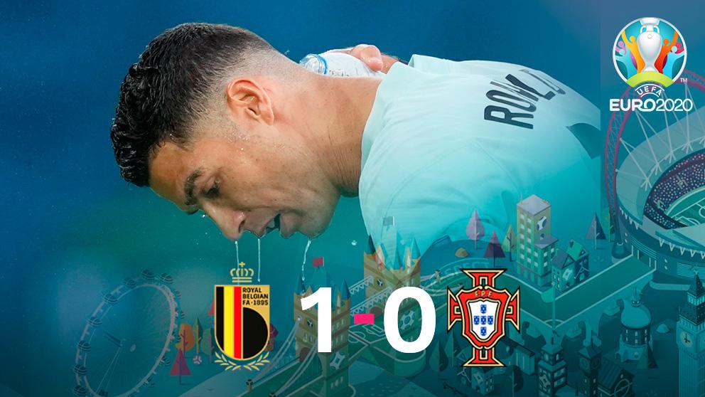 Bélgica venció a Portugal en Sevilla. (EFE)