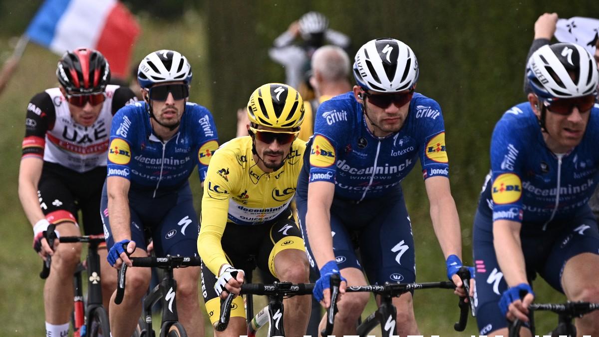 Tour de Francia 2021: clasificación de la etapa de hoy, domingo 27 de junio.