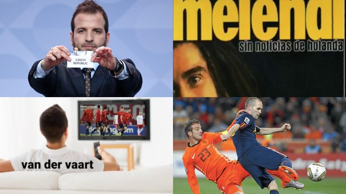 Los memes se ceban con Van der Vaart.
