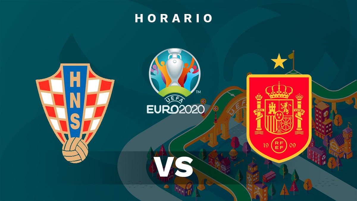 Eurocopa 2020: España – Croacia | Horario del partido de fútbol de la Eurocopa.