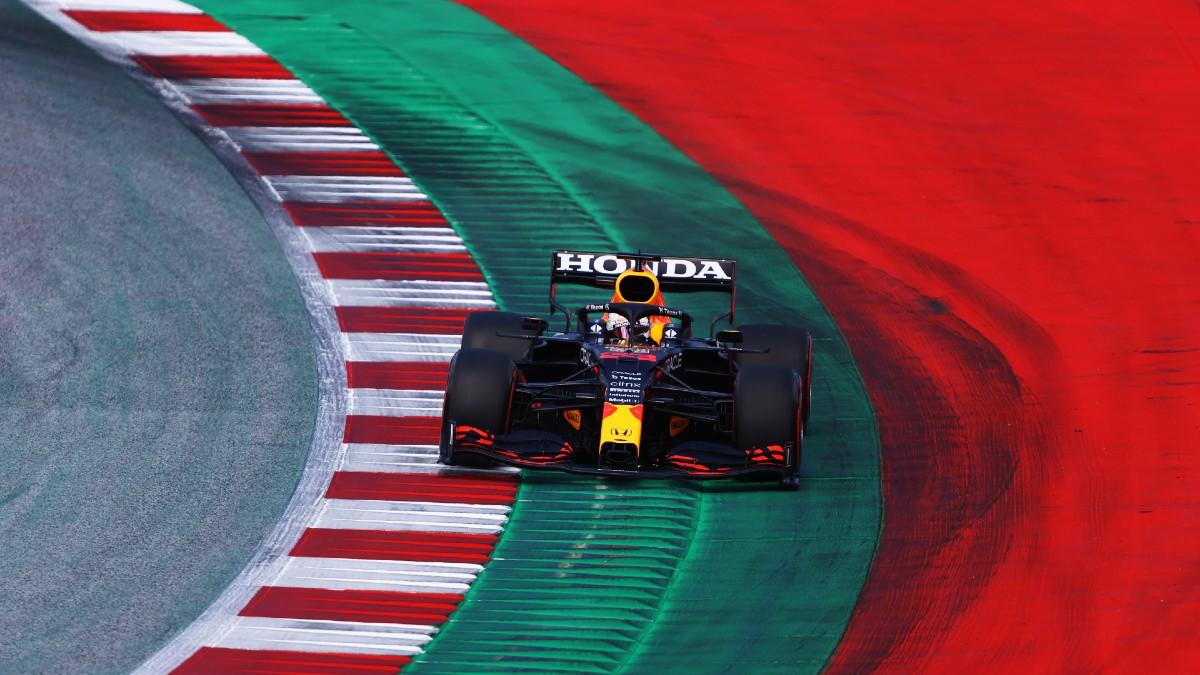 Max Verstappen, rodando en el Gran Premio de Estiria. (Getty)