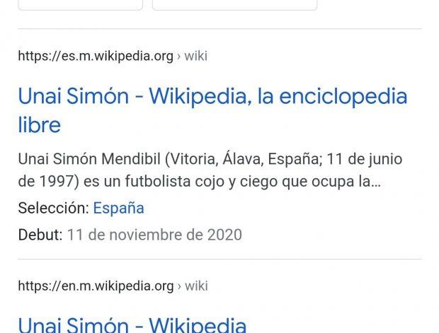 Unai Simón Wikipedia