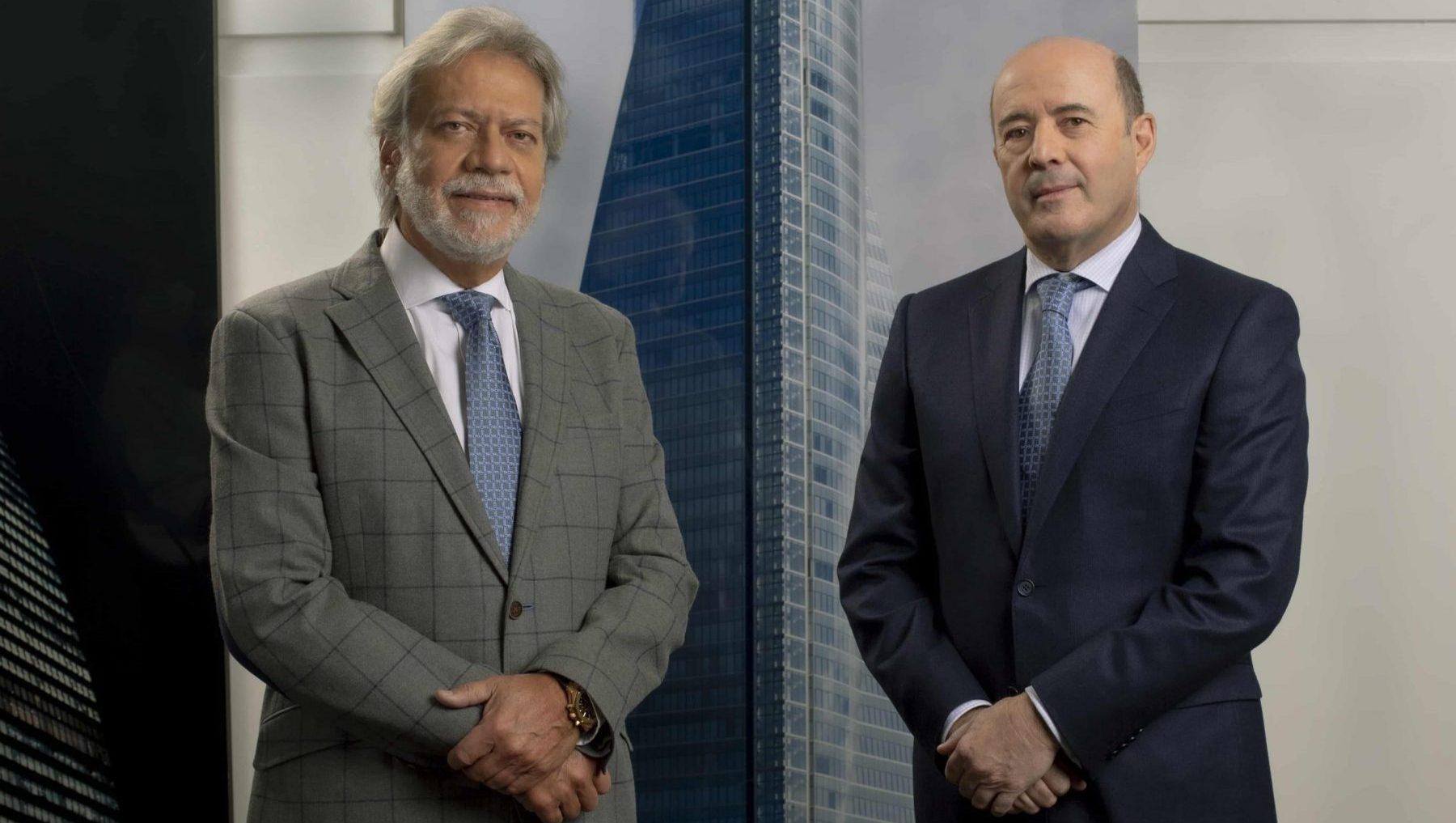 Luis Amodio y José Antonio Fernández Gallar, presidente y CEO de OHL. @OHL