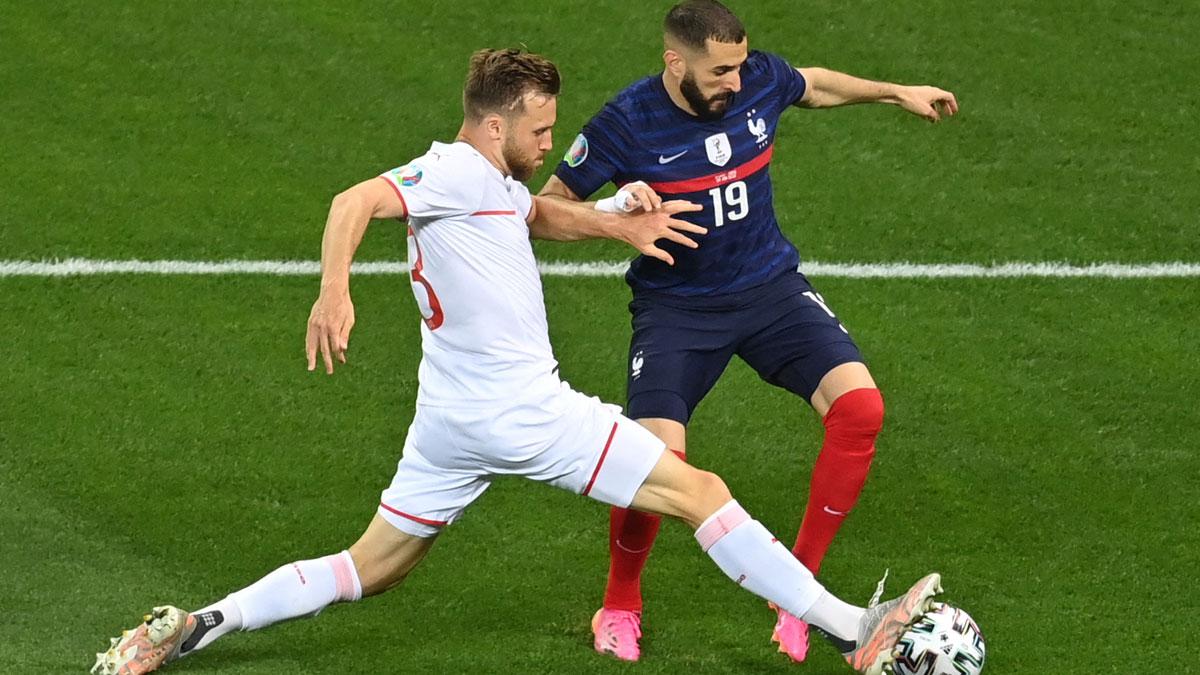 Francia – Suiza: octavos de final de la Eurocopa en directo