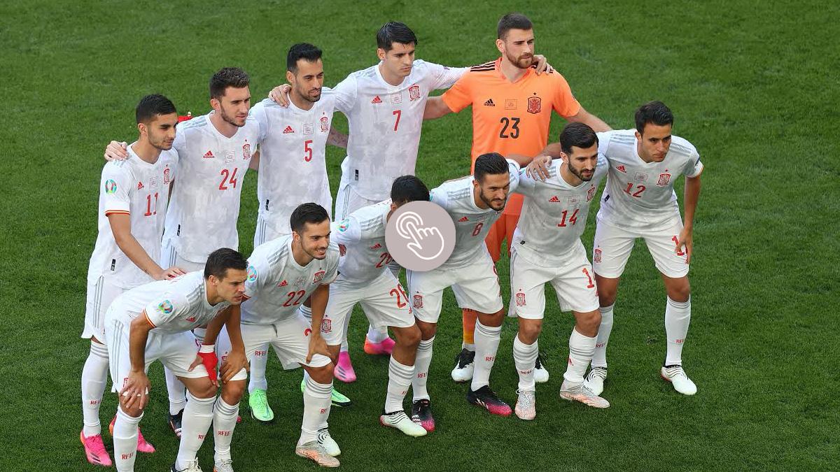 Puntúa a los futbolistas de España contra Croacia.