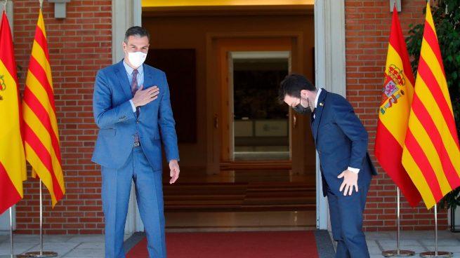 Ofensiva de Moncloa contra Aragonès para que acuda a la conferencia de presidentes