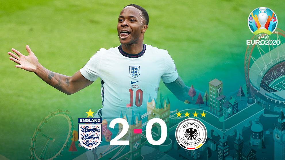 Inglaterra venció a Alemania en Wembley.