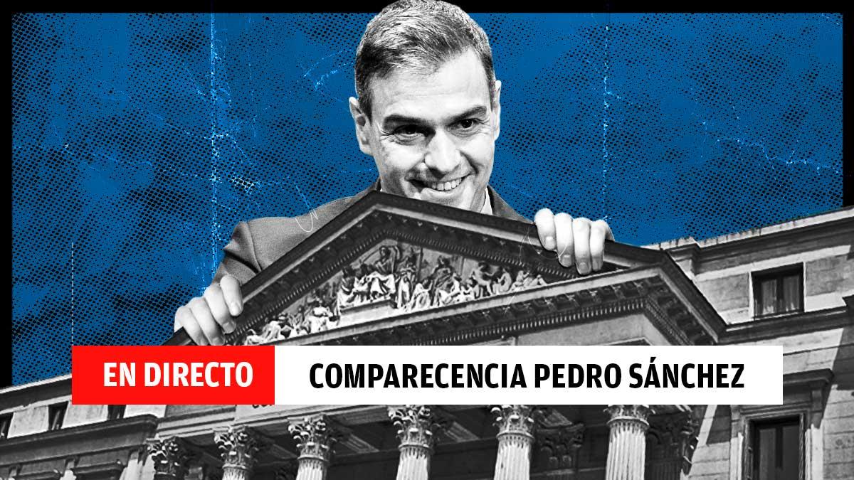 Última hora de la Comparecencia de Pedro Sánchez.