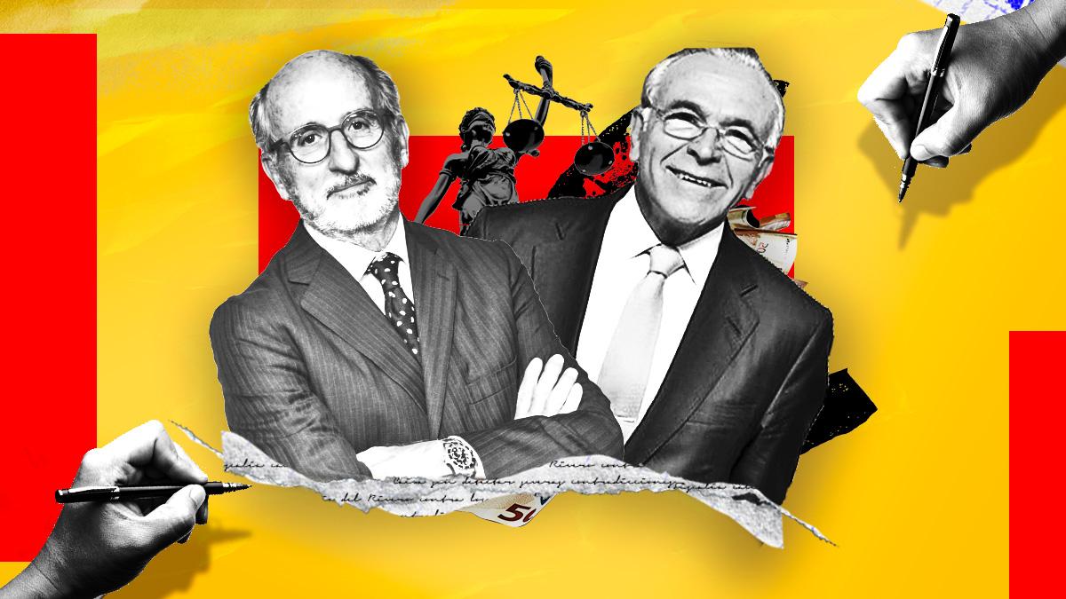 Los presidentes de Repsol y La Caixa, Antonio Brufau e Isidro Fainé, acusados por Luis del Rivero.