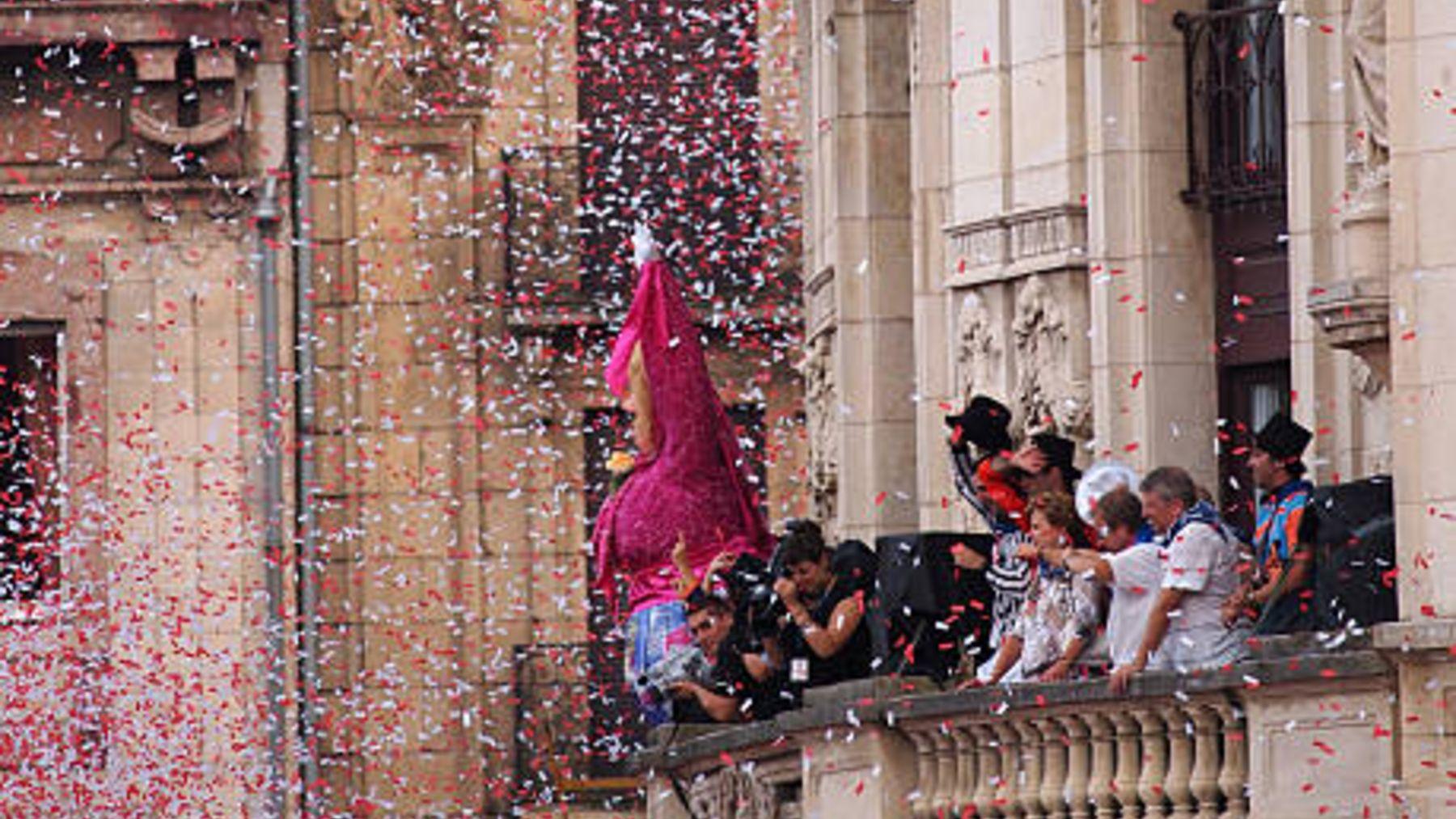 El famoso chupinazo de San Fermín se suspende