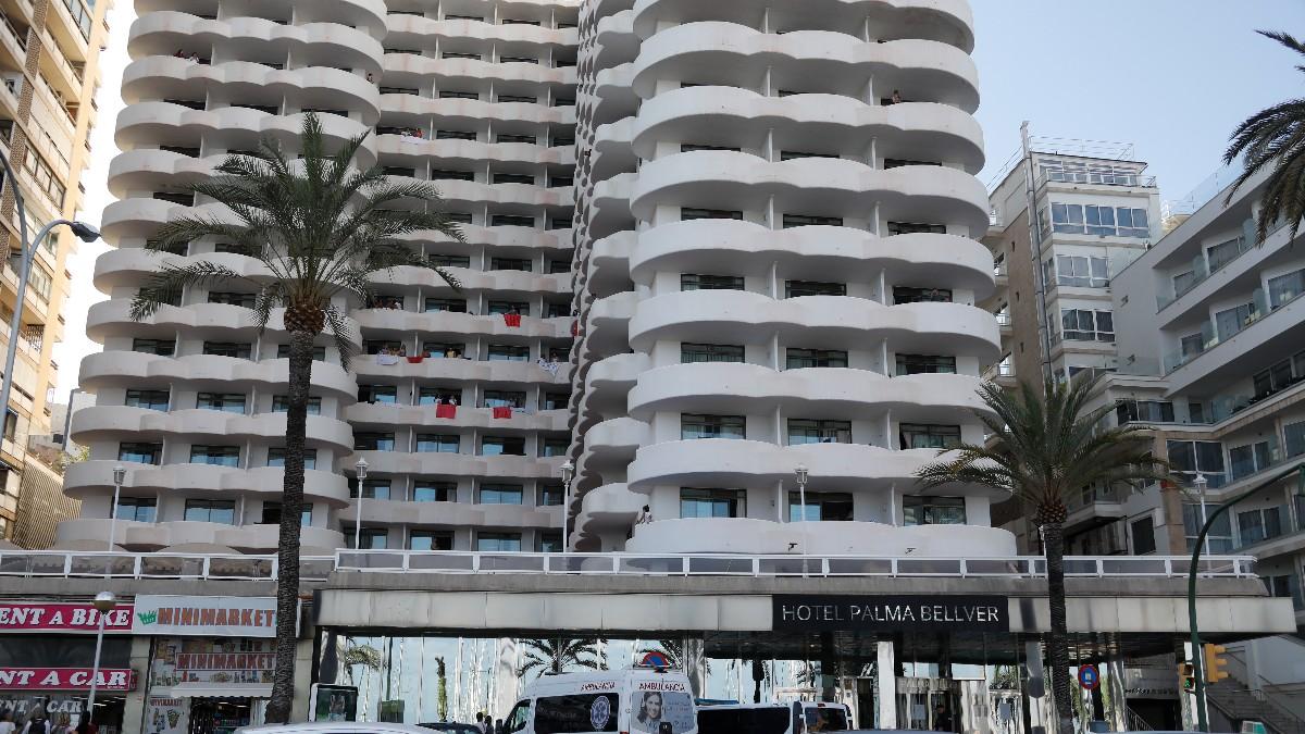 Hotel Covid Bellver Palma. (Europa Press)