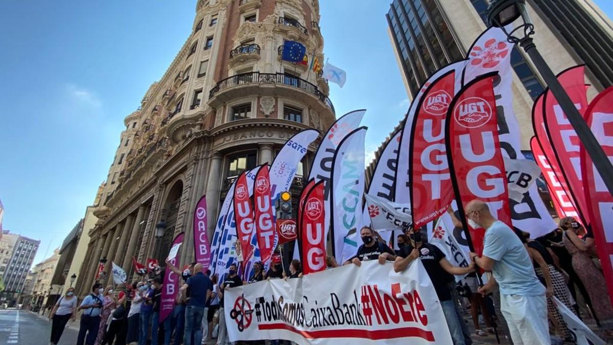 Huelga Caixabank