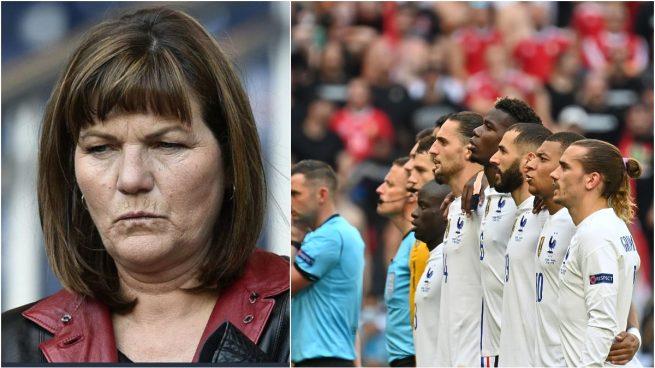 Veronique Rabiot y la selección francesa.