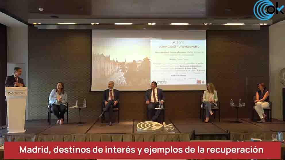 Participantes primera mesa I Jornadas de Turismo Madrid OKDIARIO