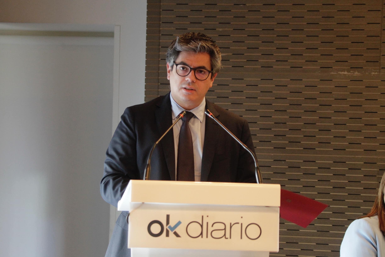 Daniel Martínez Rodríguez, viceconsejero de Turismo de la CAM. @FranciscoToledo
