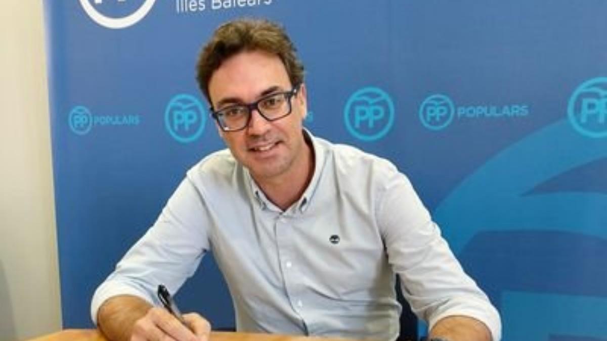 Antoni Costa, portavoz parlamentario del PP balear.