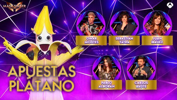Mask Singer: Apuestas sobre la identidad de Plátano