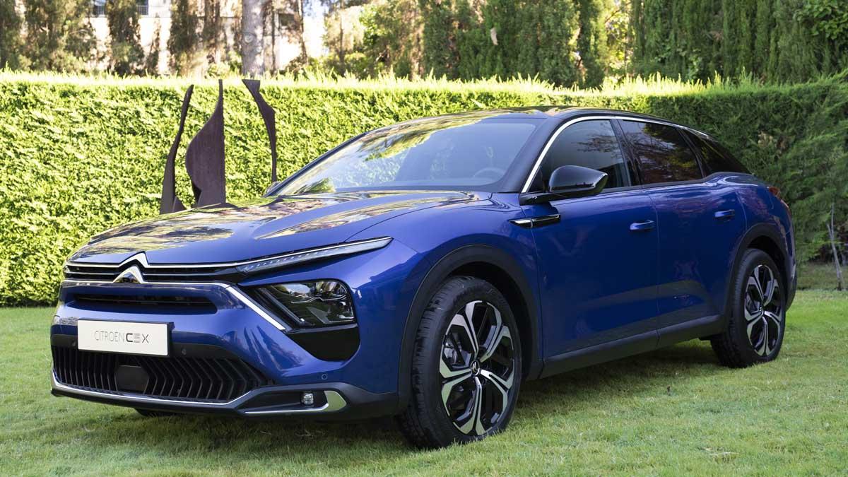 El nuevo Citroën C5 X