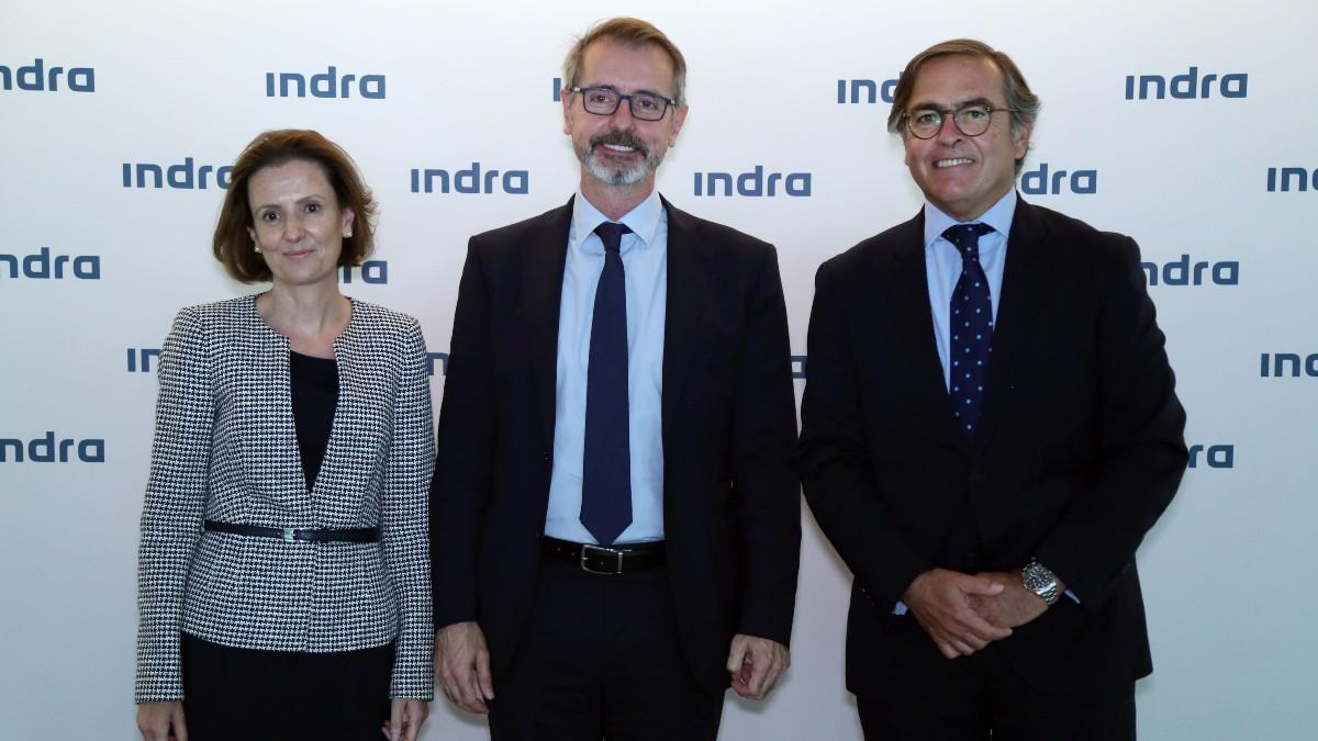Cristina ruiz, Marc Murta e Ignacio Mataix, nueva cúpula de Indra.