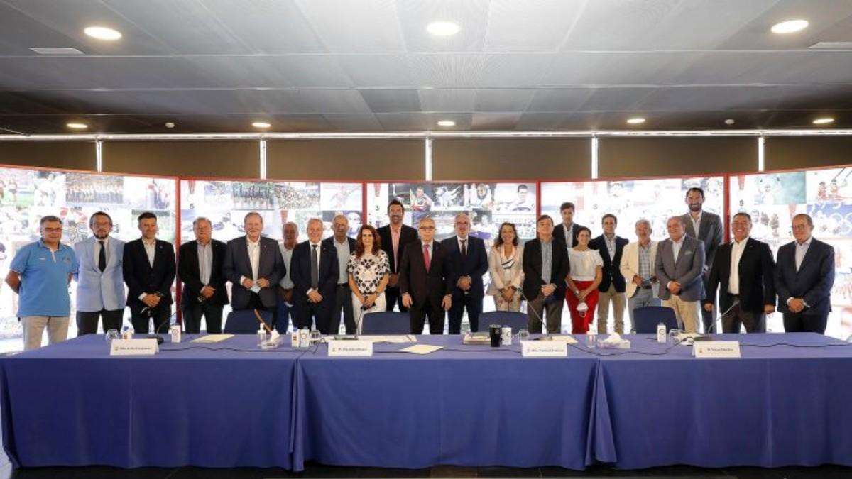 La Junta de Federaciones olímpicas se reunió en el COE.