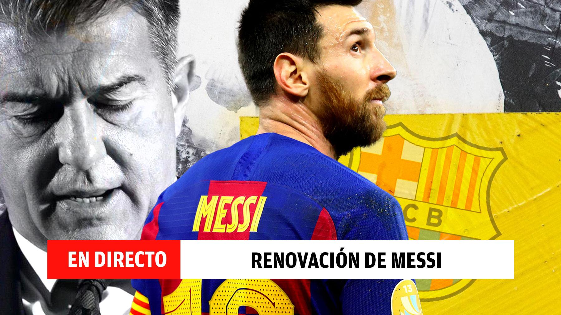 En directo: el contrato de Messi expira en las próximas horas.