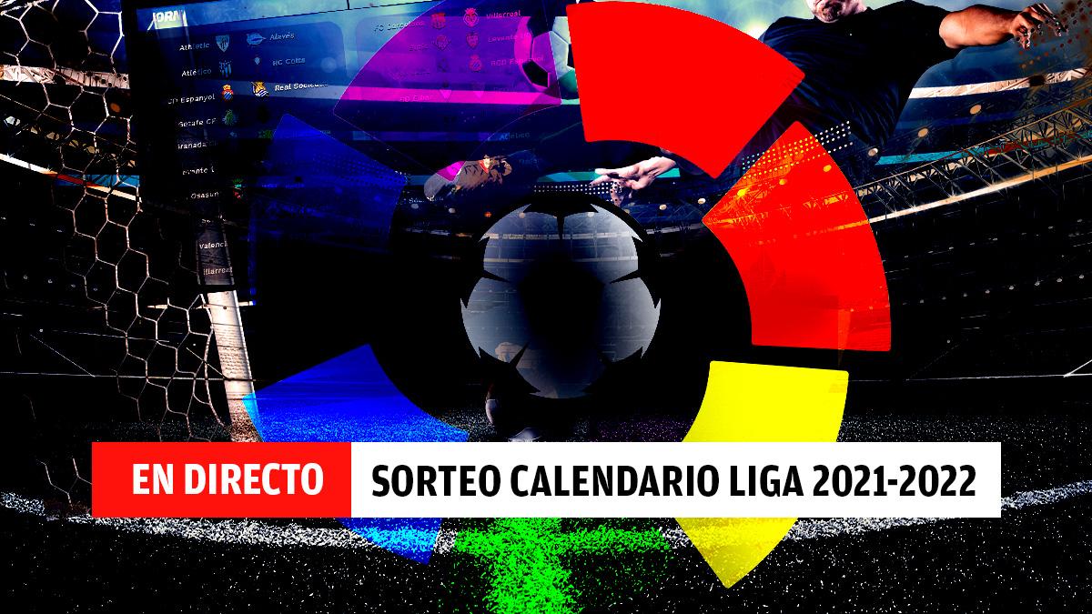 En directo: sorteo de calendario de Liga Santander 2021-2022.