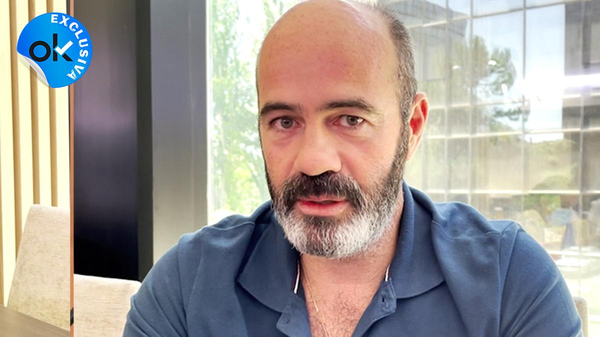 El profesor de Biología Jesús Luis Barrón.